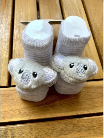 Бебешки чорапчета с пришити...