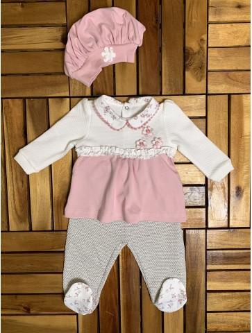 Комплект за бебе с баретка