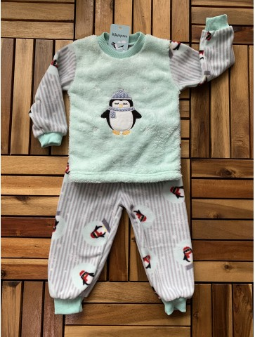 Поларна пижама Пингвинче