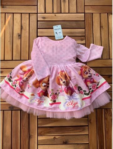 """Обемна рокля """"Скай"""""""