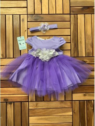 Празнична рокля в лилаво