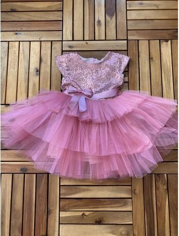Официална обемна рокличка с...